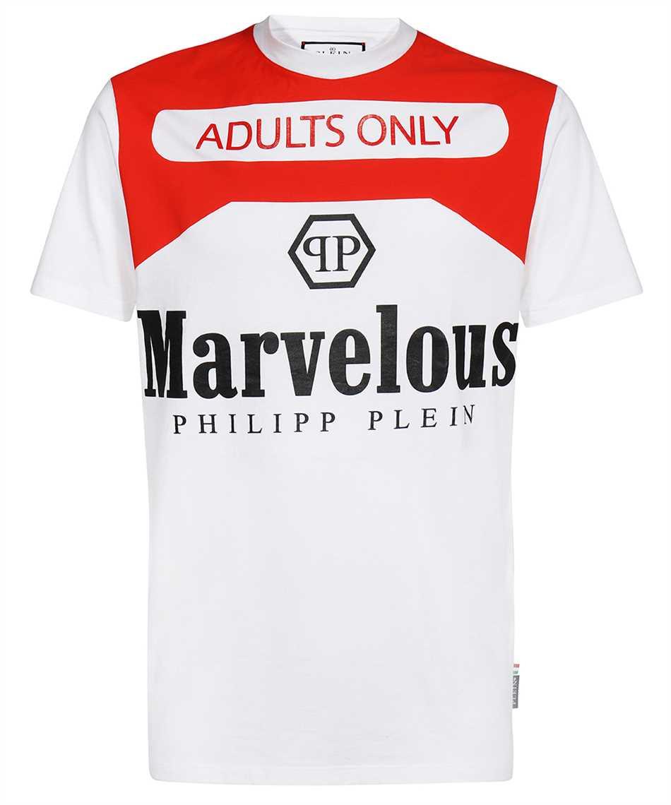 Philipp Plein AAAC UTK 0047 PJY002N PRINT MARVELOUS T-shirt 1