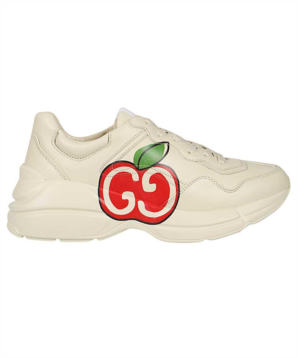 Gucci 609343 DRW00 RHYTON GG APPLE Sneakers 1