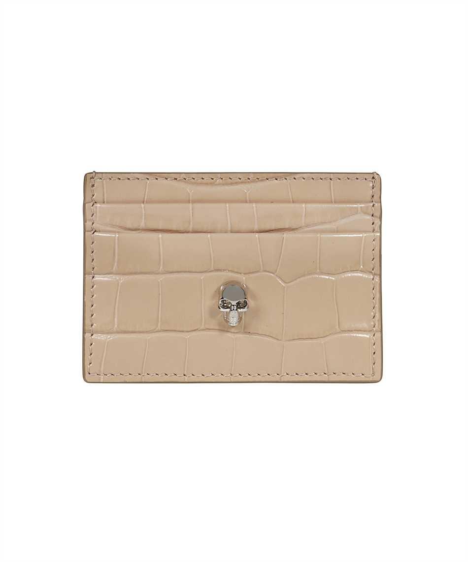Alexander McQueen 632038 1JMHI SKULL Porta carte di credito 1