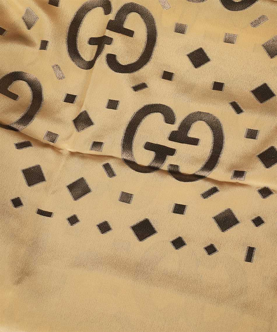 Gucci 661568 3GA26 GG FIL COUPÉ LAMÉ Scarf 2