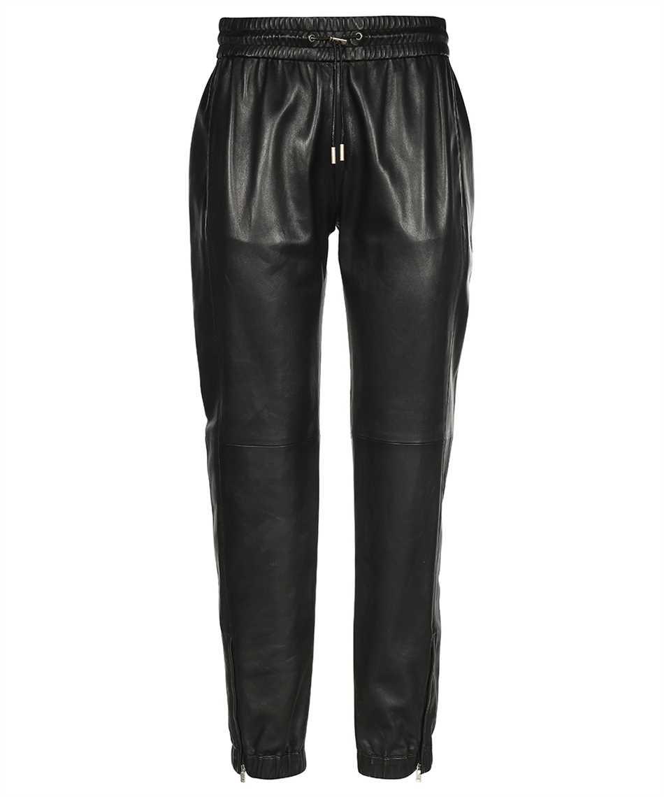 Saint Laurent 664622 YC2MS LAMBSKIN Trousers 1