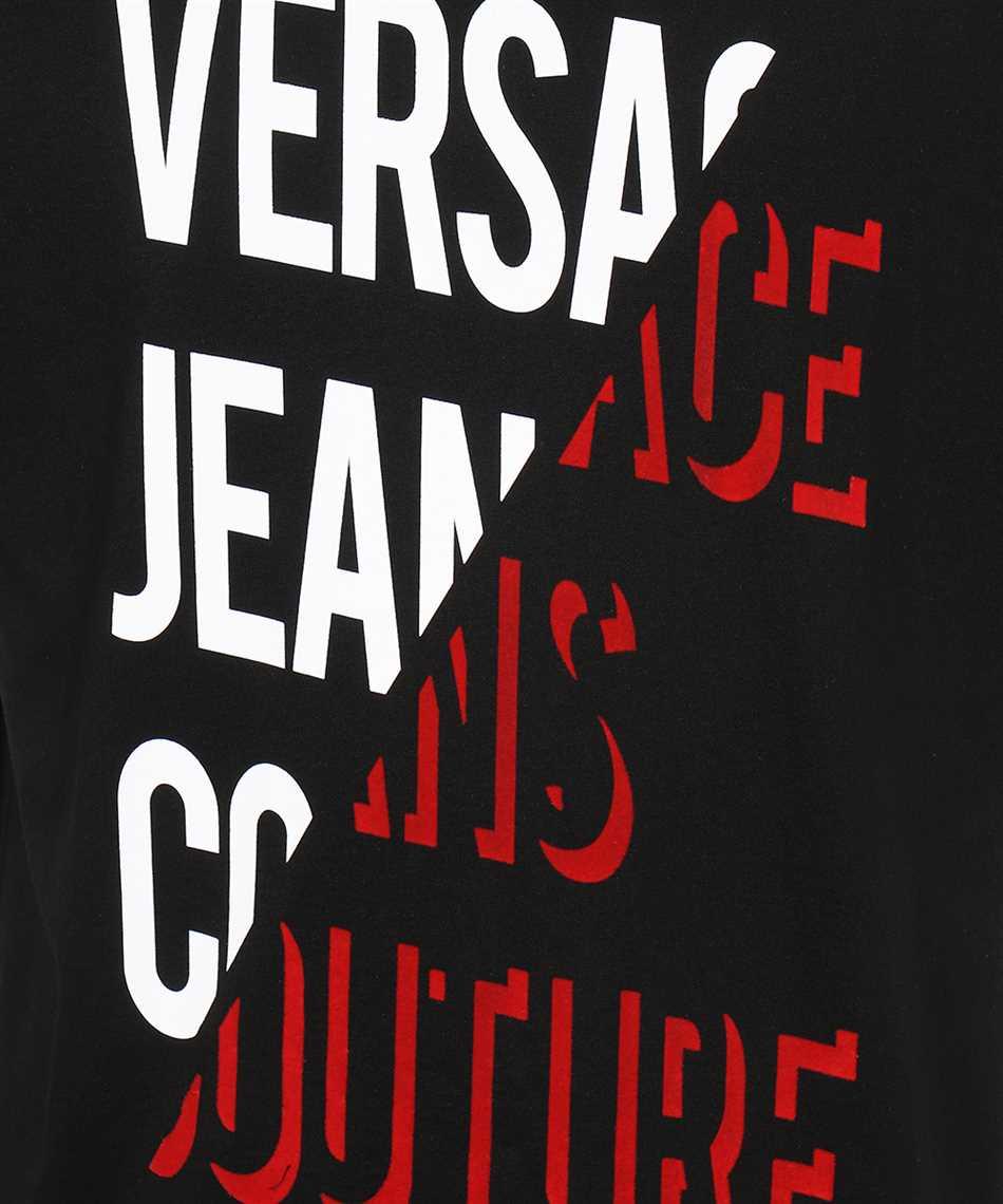 Versace Jeans Couture 71GAHF03 CJ00F FLOCK T-shirt 3