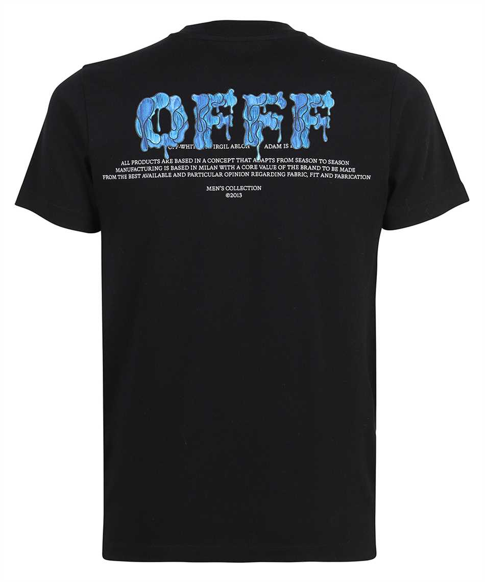 Off-White OMAA027S21JER009 OFFF S/S SLIM T-Shirt 2