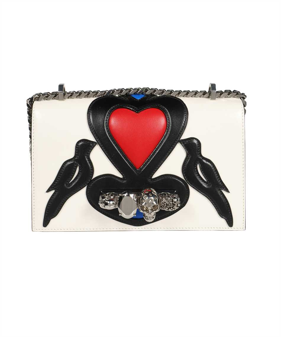 Alexander McQueen 554128 D78BB JEWELLED Bag 1