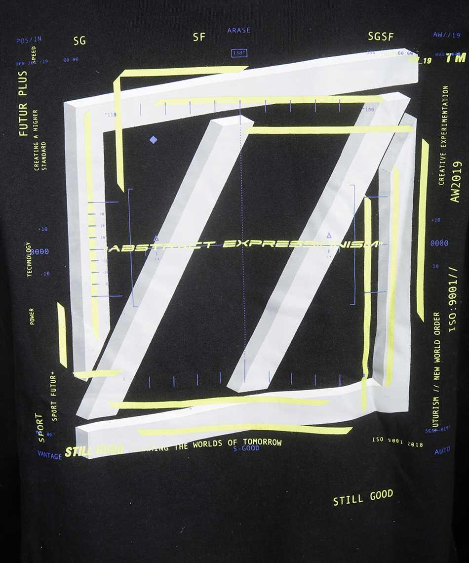 Still Good ABSTRACT MOVEMENT 3D SS TEE T-shirt 3