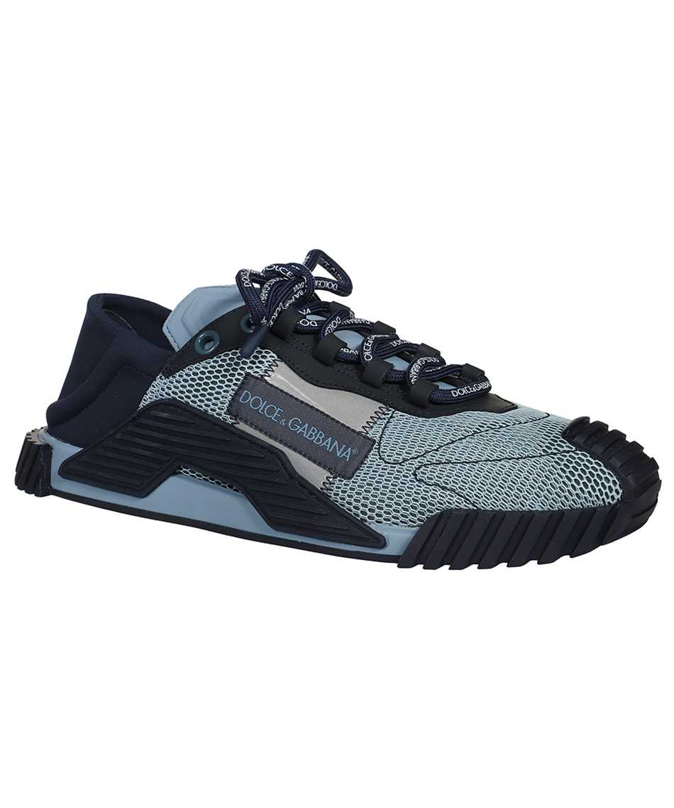 Dolce & Gabbana CS1769 AO225 MIXED MATERIAL NS1 SLIP-ON Sneakers 2