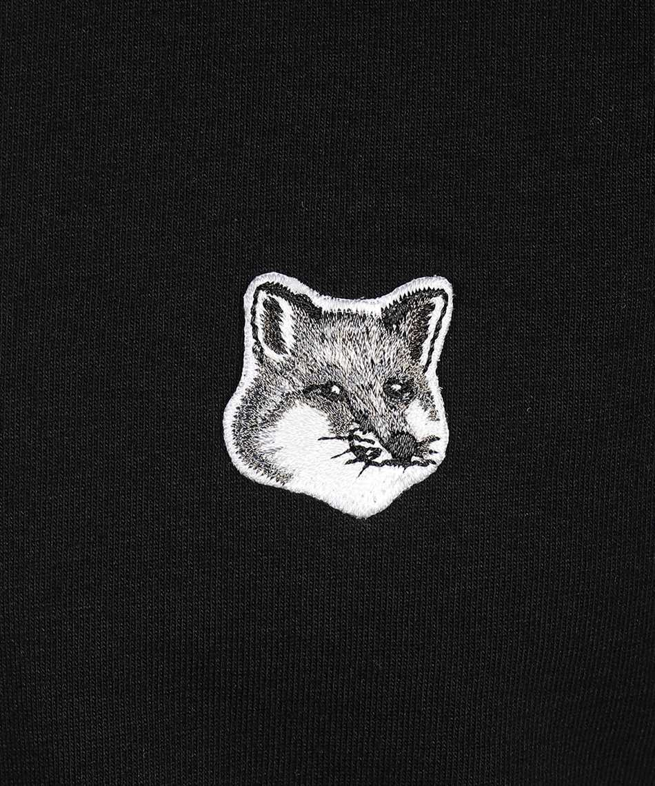 Maison Kitsune GM00118KJ0008 GREY FOX HEAD PATCH CLASSIC T-Shirt 3