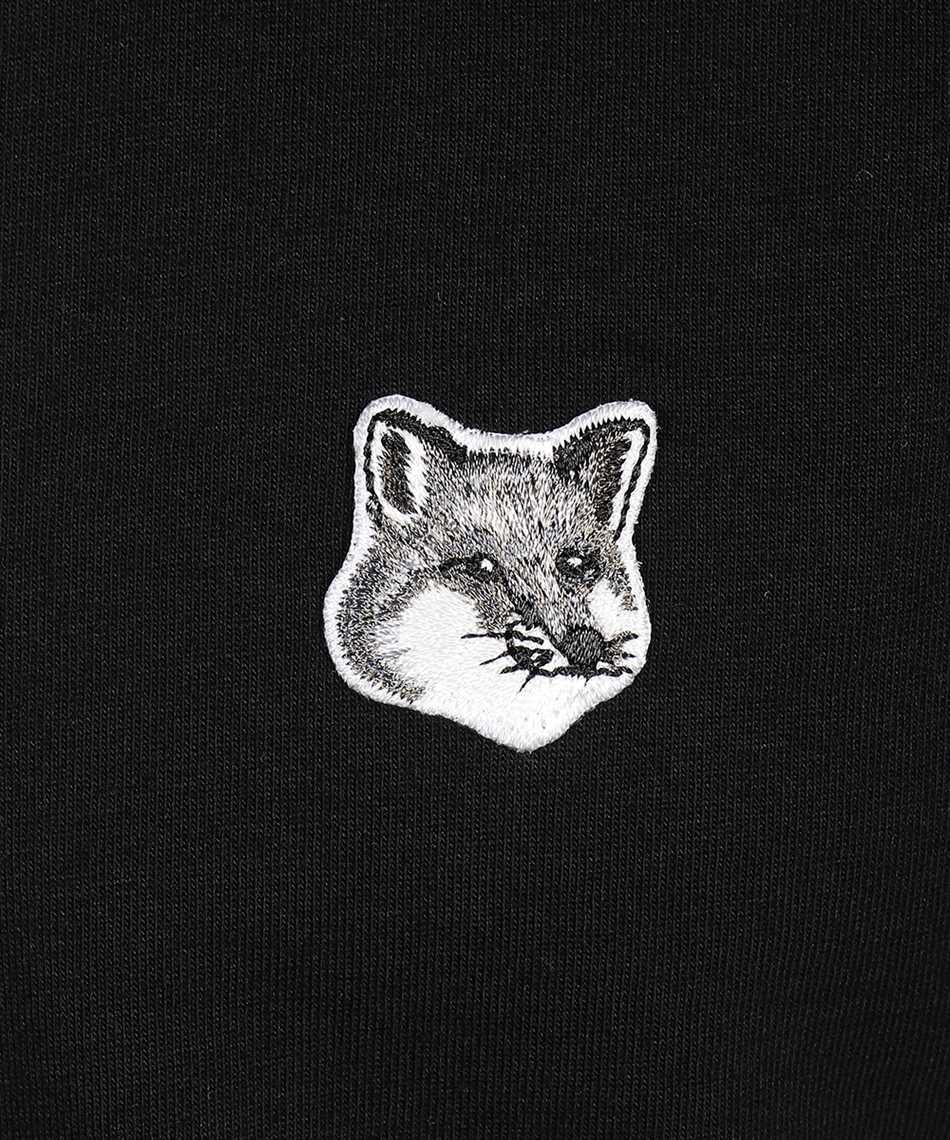 Maison Kitsune GM00118KJ0008 GREY FOX HEAD PATCH CLASSIC T-shirt 3
