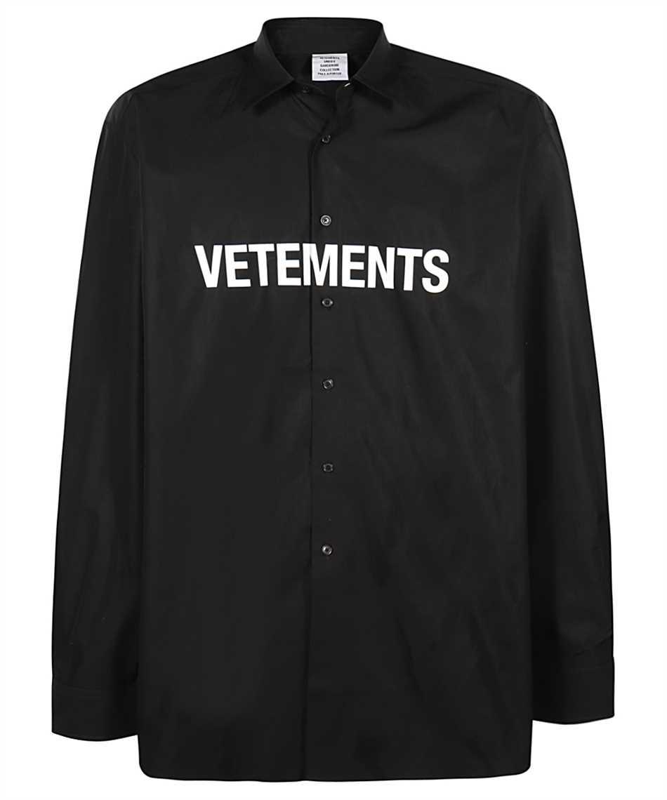 Vetements UE51SH300B FRONT LOGO Shirt 1