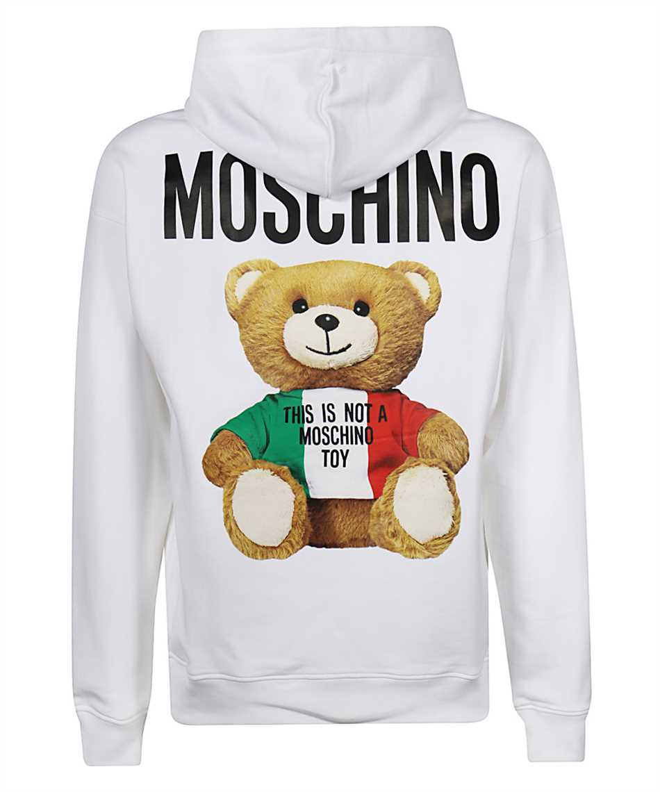 Moschino V1734 2027 ITALIAN TEDDY BEAR Kapuzen-Sweatshirt 2