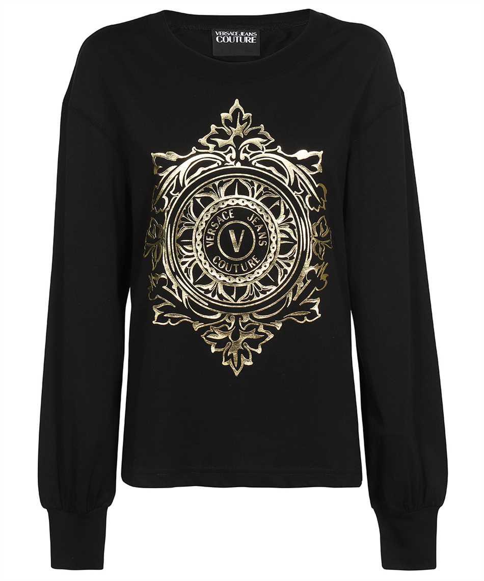 Versace Jeans Couture 71HAHF05 CJ00F V-EMBLEM LEAF T-Shirt 1