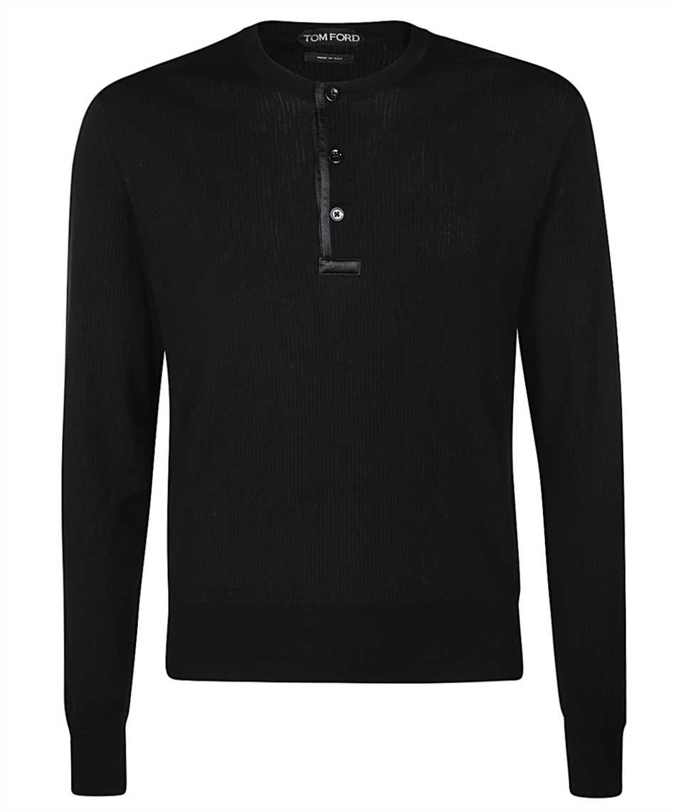 Tom Ford BVT94 TFK115 HENLEY Knit 1