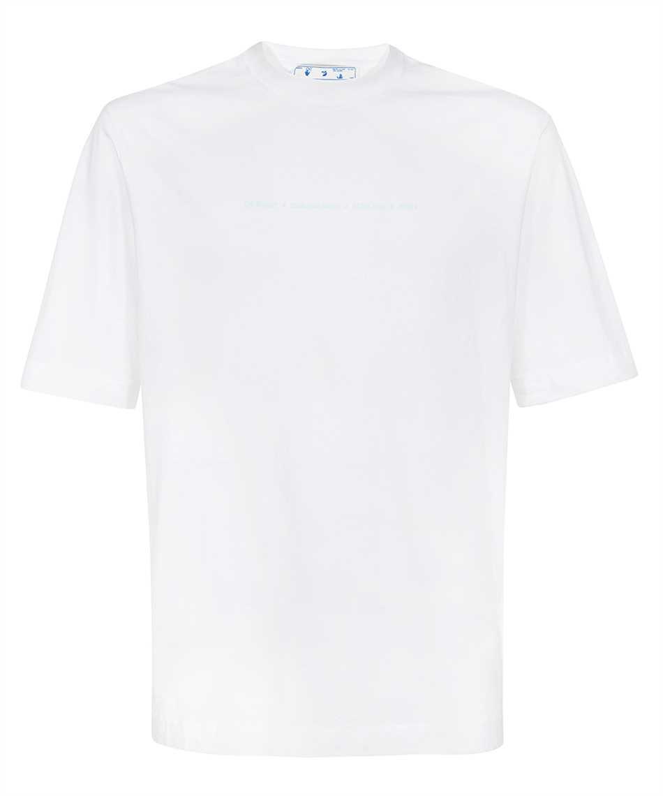 Off-White OMAA119F21JER023 MARKER S/S SKATE T-shirt 1
