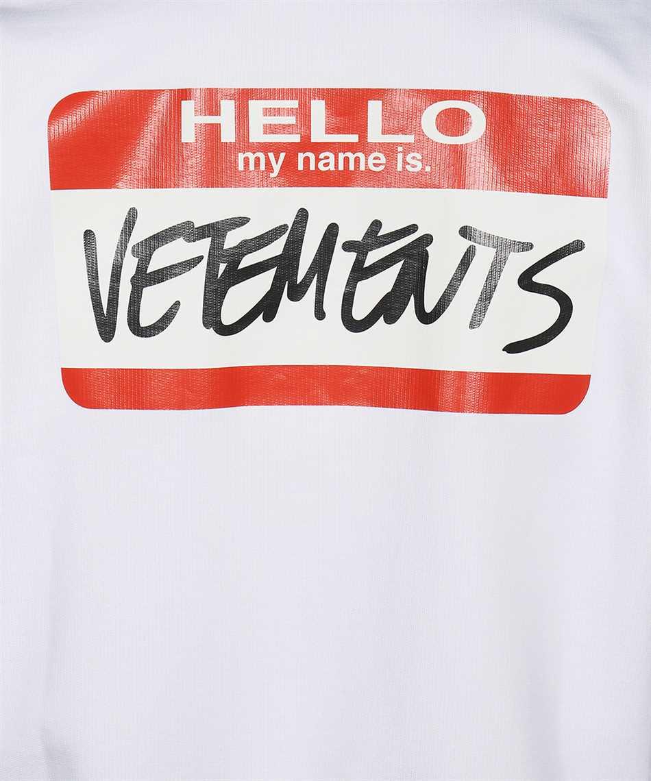 Vetements UE52TR330W MY NAME IS VETEMENTS Felpa 3