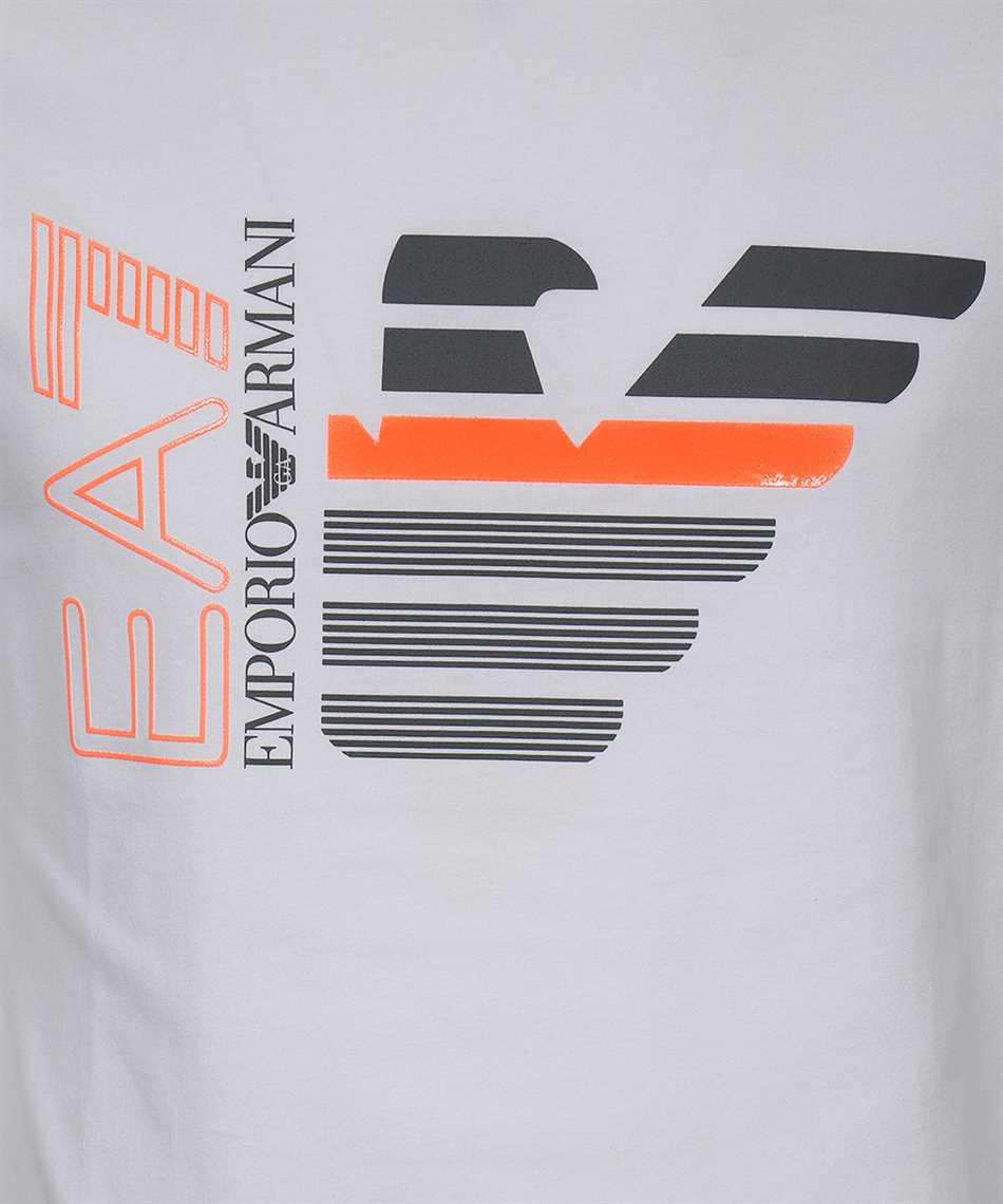 EA7 3KPT22 PJ6EZ EAGLE AND LOGO T-shirt 3