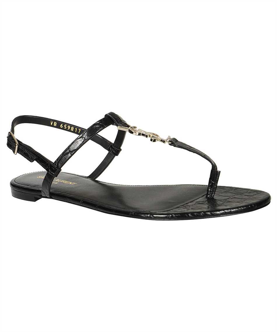 Saint Laurent 659817 2ZEJJ CASSANDRA FLAT Sandals 2