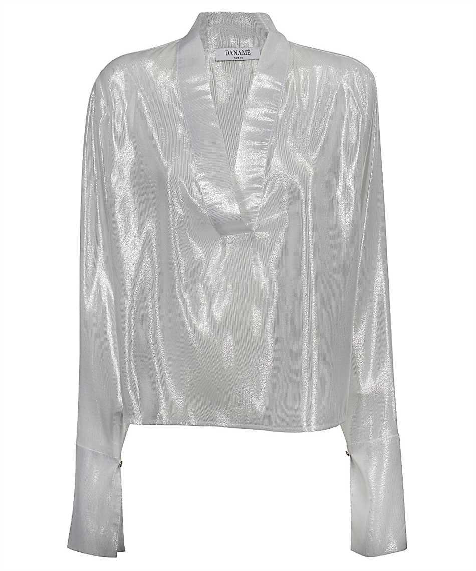 Danamè 8211D607 OVERSIZED CUFF DETAILED LAME Camicia 1