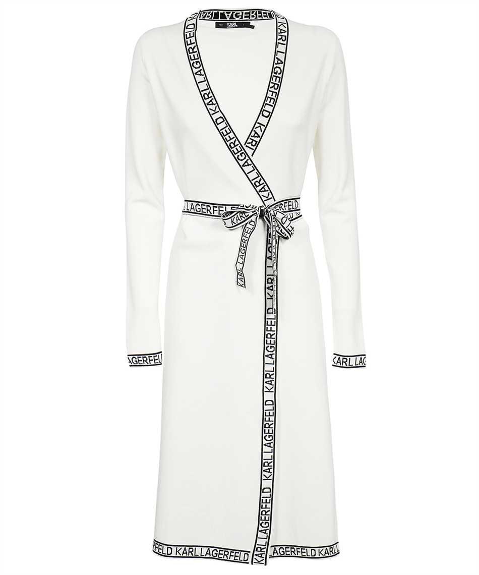 Karl Lagerfeld 215W1330 KNITTED WRAP Dress 1