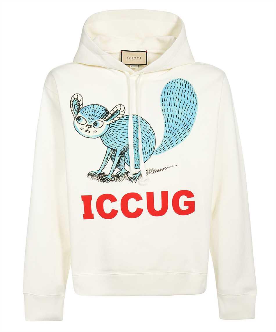 Gucci 646953 XJDJR FREYA HARTAS ICCUG ANIMAL PRINT Hoodie 1