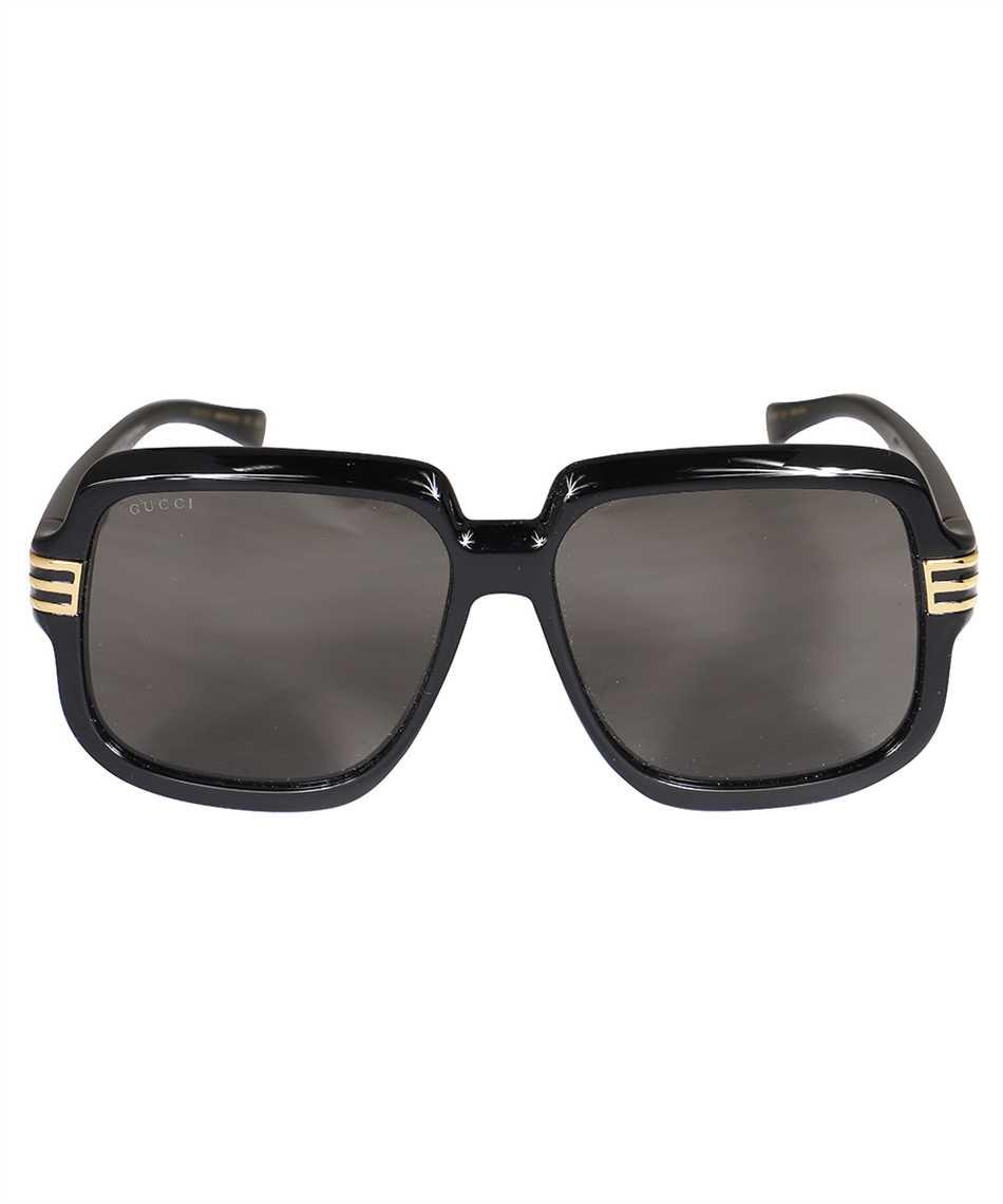 Gucci 663772 J1691 SQUARE-FRAME Sonnenbrille 1