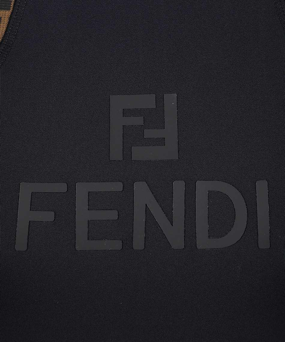 Fendi FAJ024 AGM5 FF FIT LYCRA Overall 3