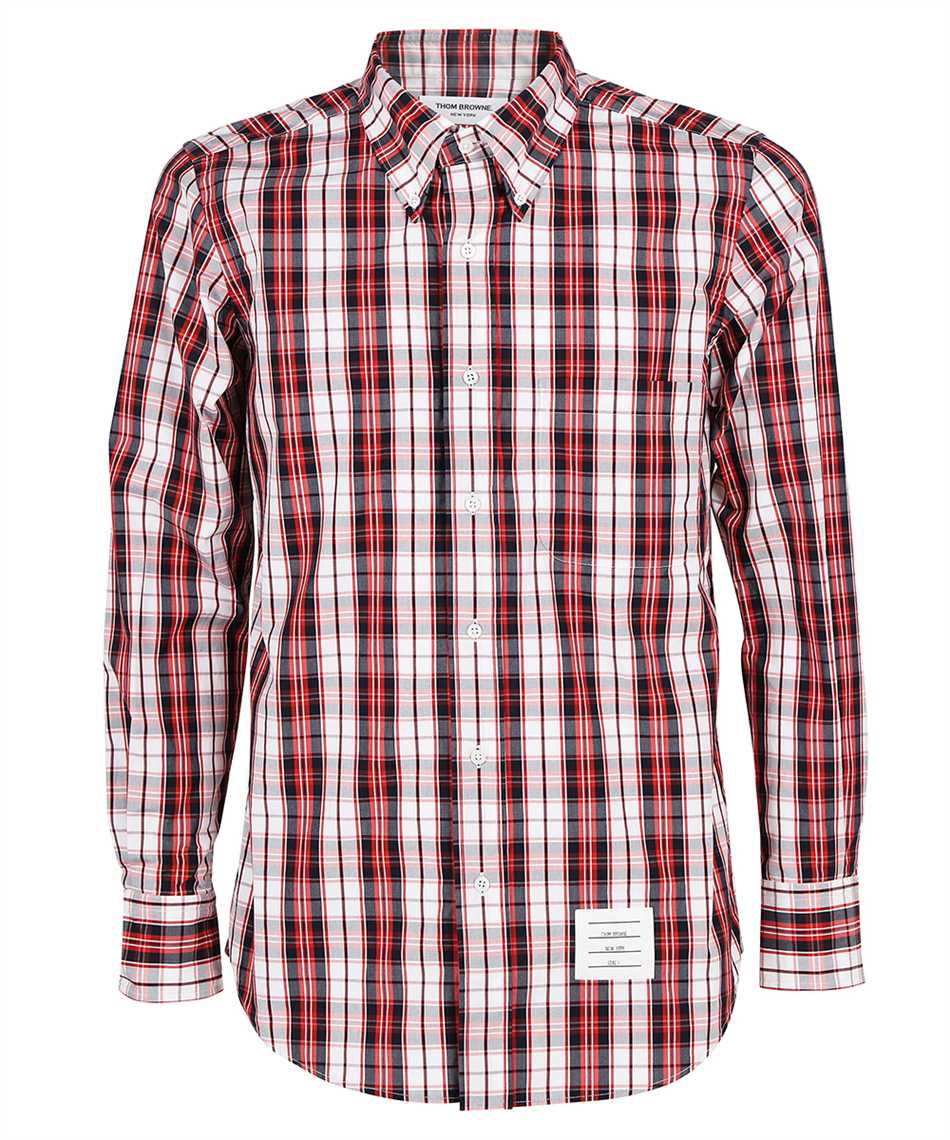 Thom Browne MWL272A 07498 STRAIGHT FIT Shirt 1
