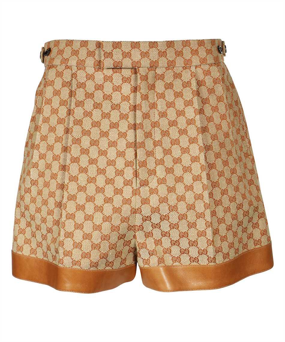 Gucci 661565 Z8AOA GG LINEN CANVAS Shorts 1
