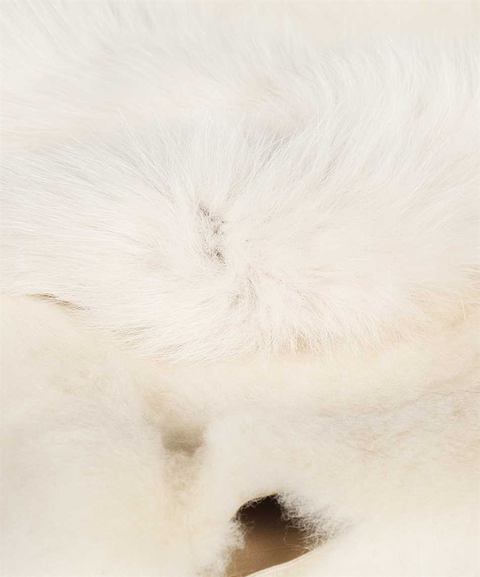 Karl Donoghue CMFCFW1 SHEARLING & SAGA FOX FUR FINGERLESS Gloves 3