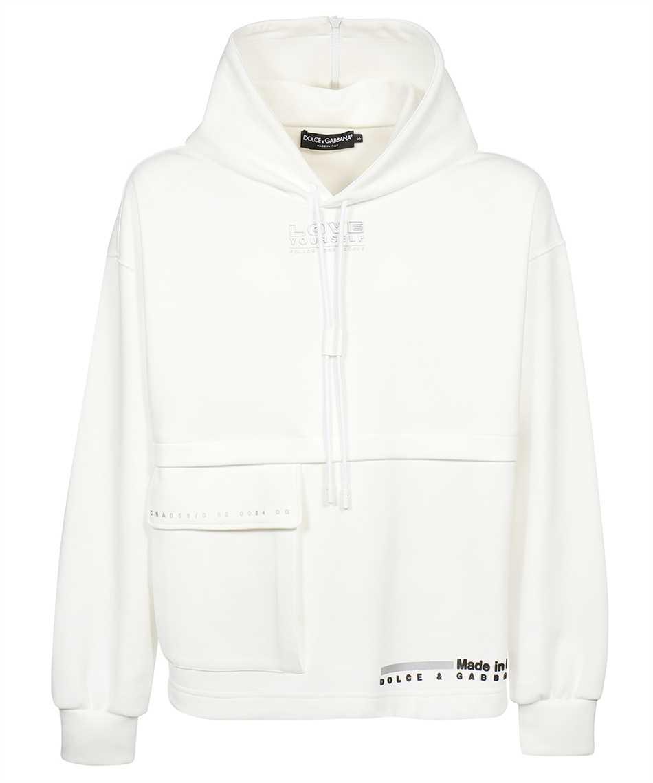 Dolce & Gabbana G9UF5Z HU7H9 ZIP HOOD Kapuzen-Sweatshirt 1
