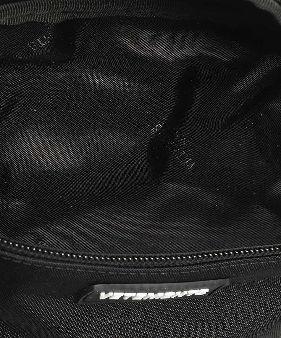 Vetements UA52BA100B ALL BLACK LOGO Belt bag 3