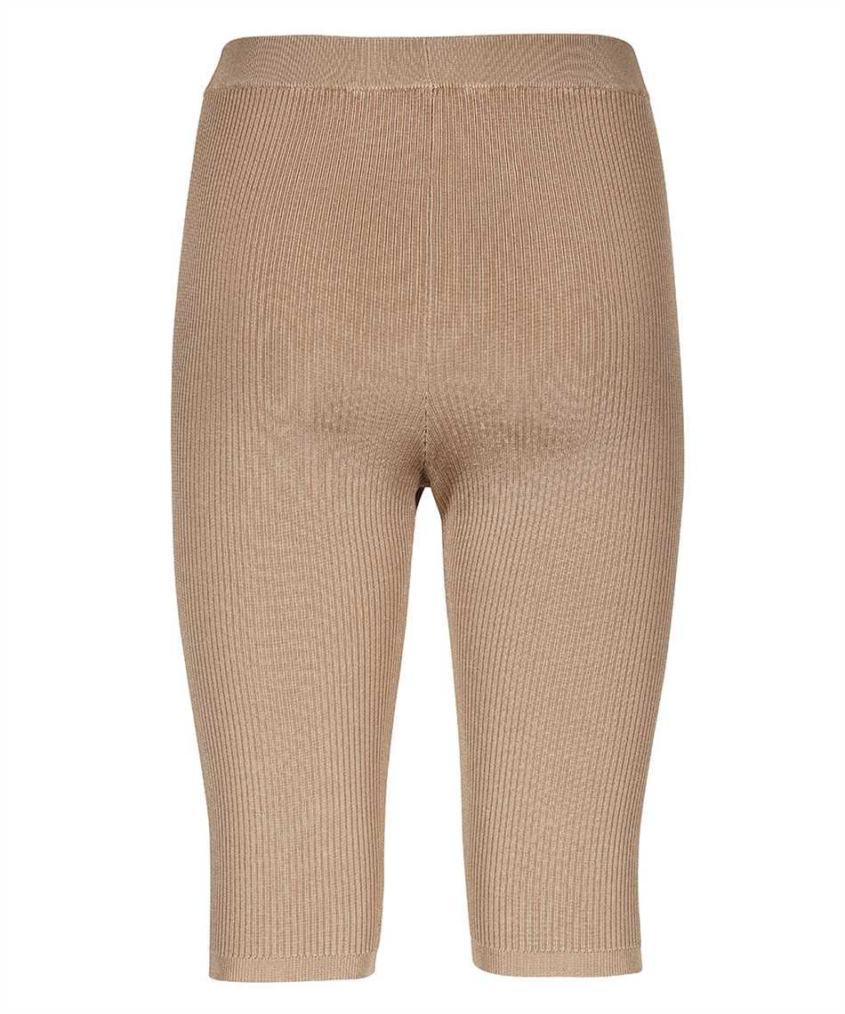 Saint Laurent 657443 Y75BE RIBBED KNIT RIDER Shorts 2