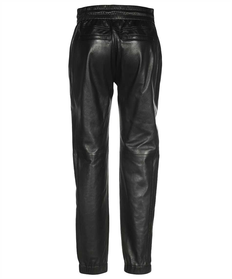 Saint Laurent 664622 YC2MS LAMBSKIN Trousers 2