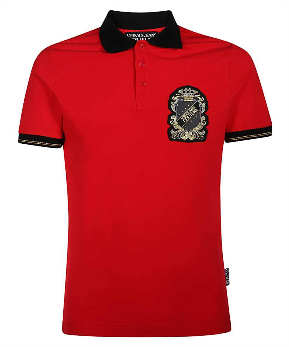 Versace Jeans Couture B3GZB7T0 36571 PATCH SHIELD Polo 1