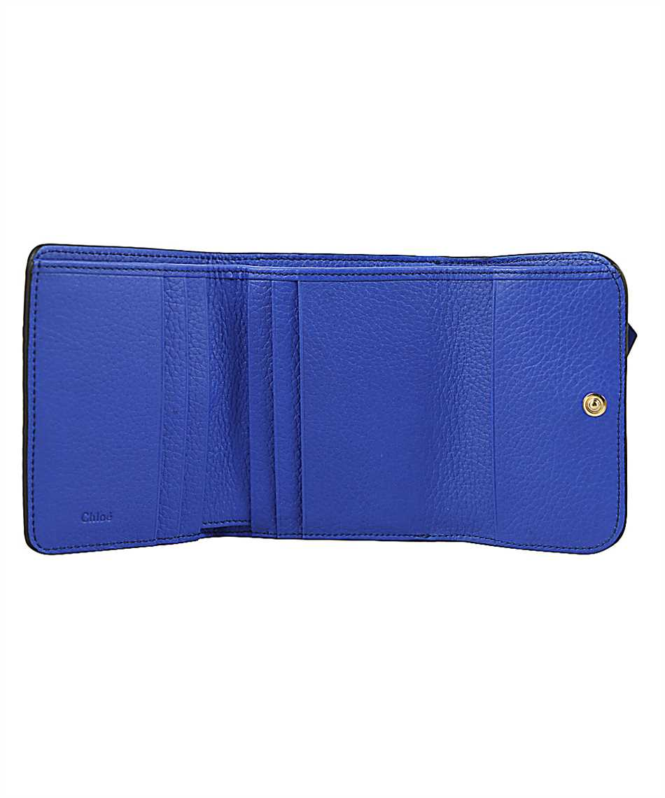 Chloé CHC17AP945H9Q ALPHABET TRI-FOLD Wallet 3