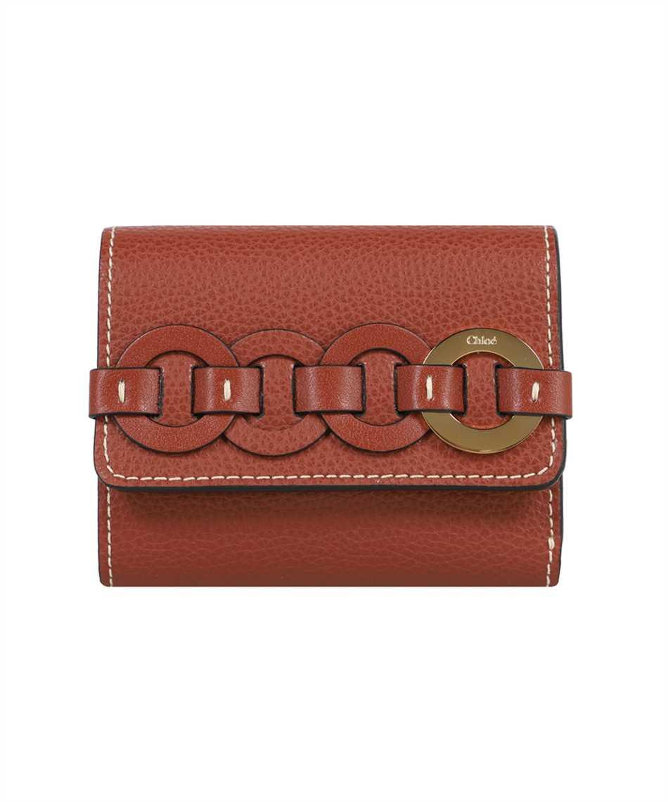 Chloé CHC21UP117E04 SMALL DARRYL TRI-FOLD Porta carte di credito 1