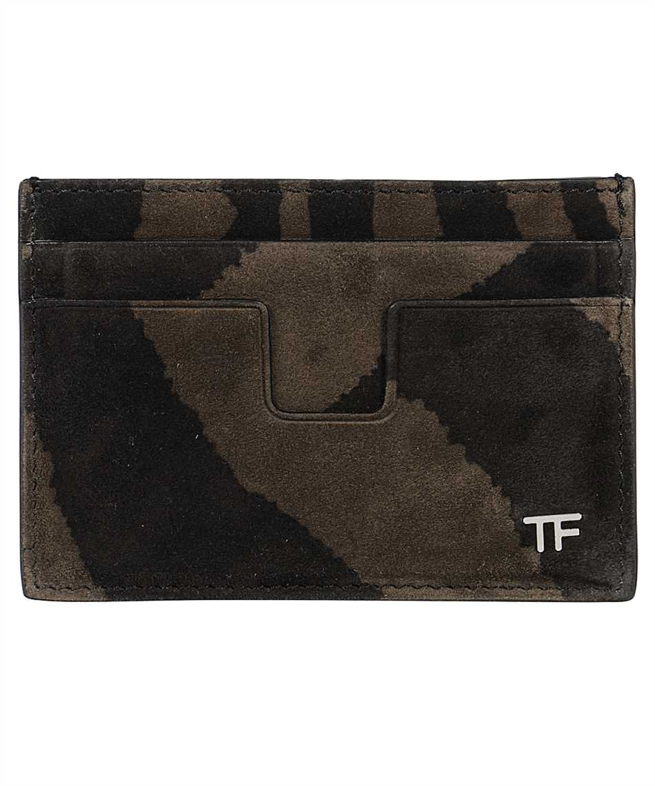 Tom Ford Y0232P-LCL078 ZEBRA SUEDE Card holder 1