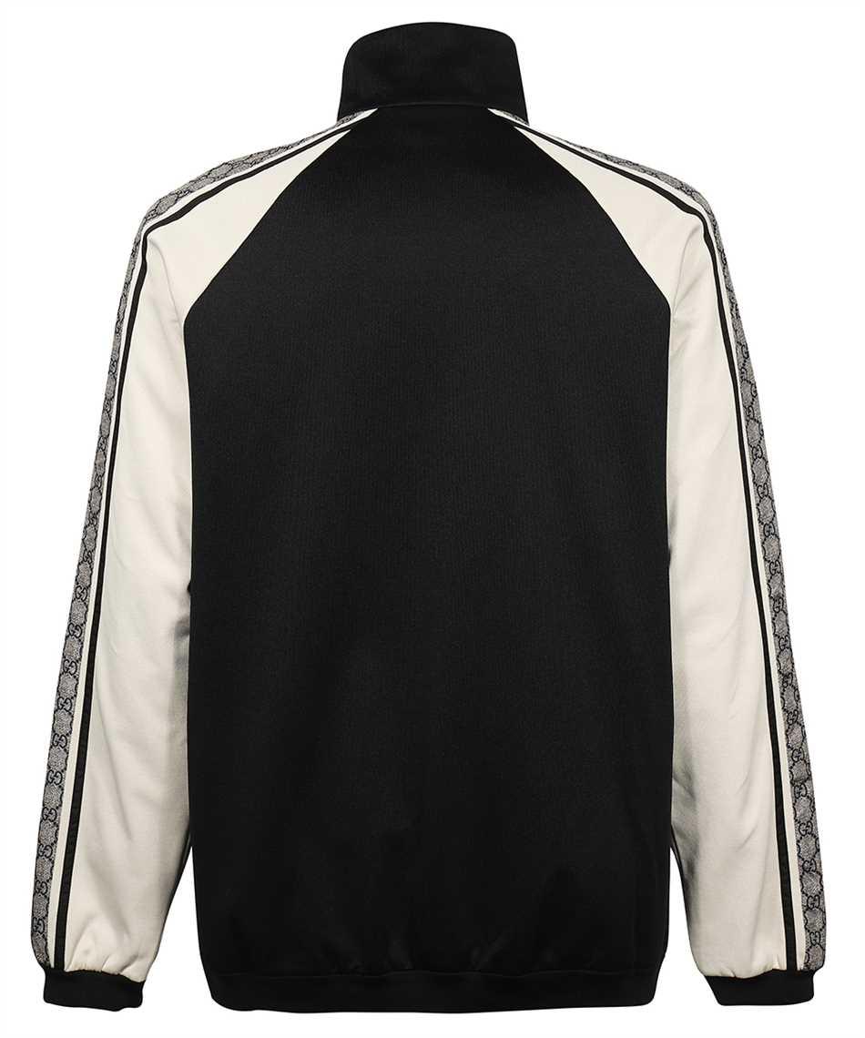 Gucci 545601 XJACZ OVERSIZE TECHNICAL JERSEY Jacket 2