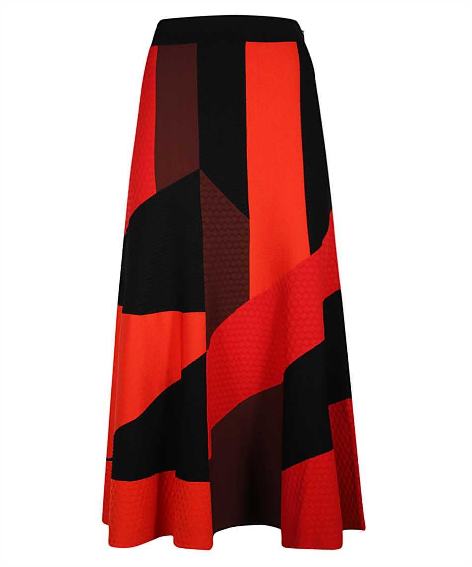 Alexander McQueen 641901 Q1ARR PATCHWORK KNT Skirt 1
