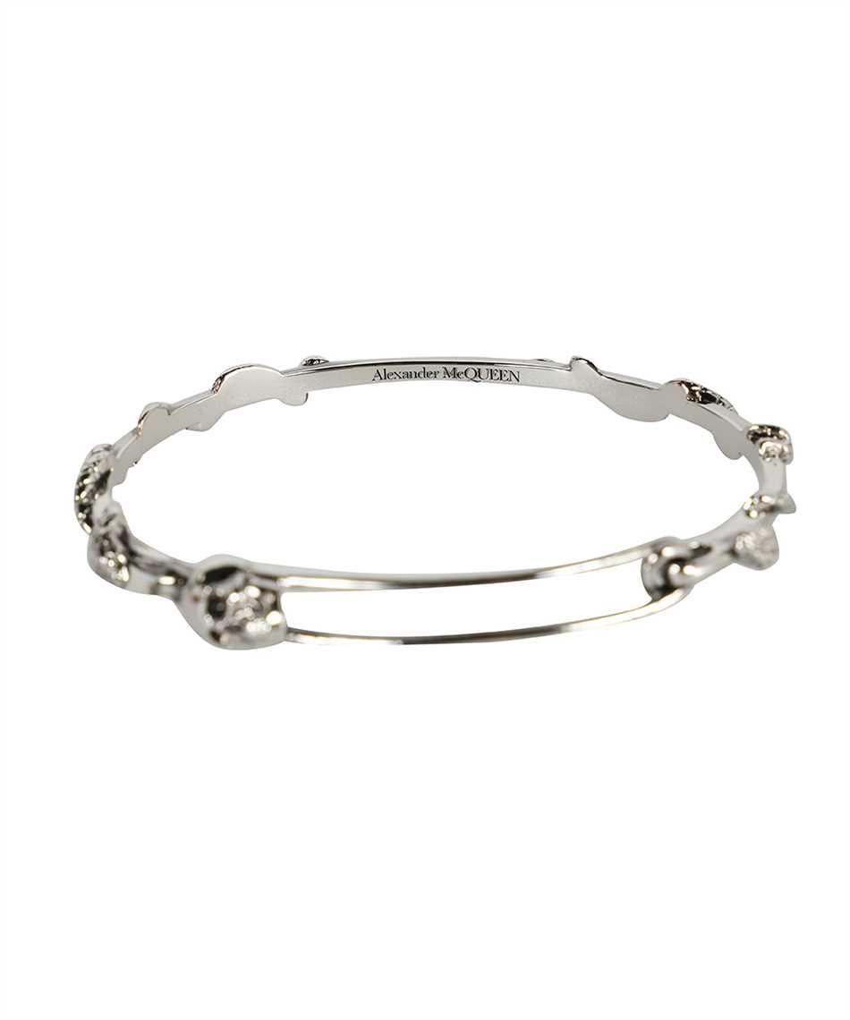 Alexander McQueen 663851 J160Y SKULL SAFETY PIN Bracciale 3