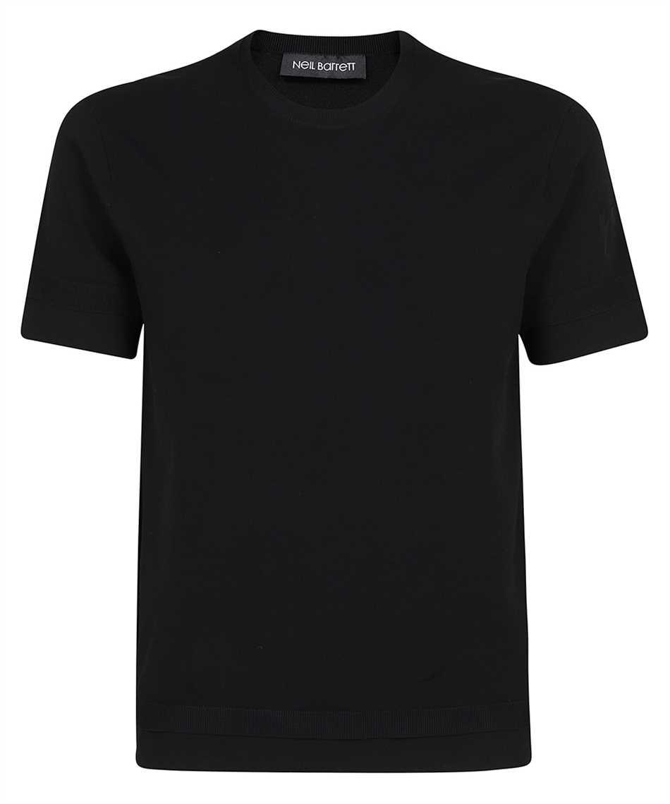 Neil Barrett BMA013E R601 TECNO KNIT T-shirt 1