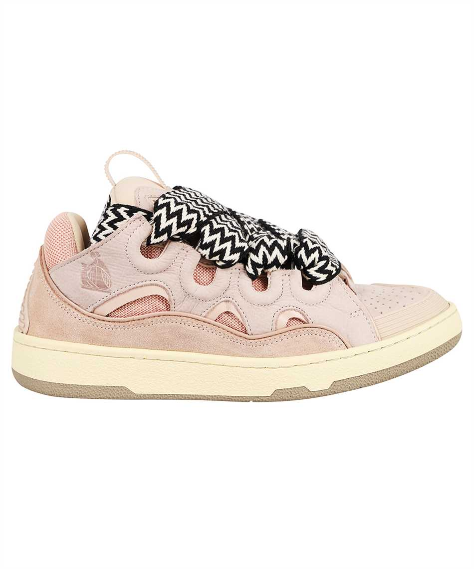 Lanvin FW SKDK02 DRAG A21 LEATHER CURB Sneakers 1