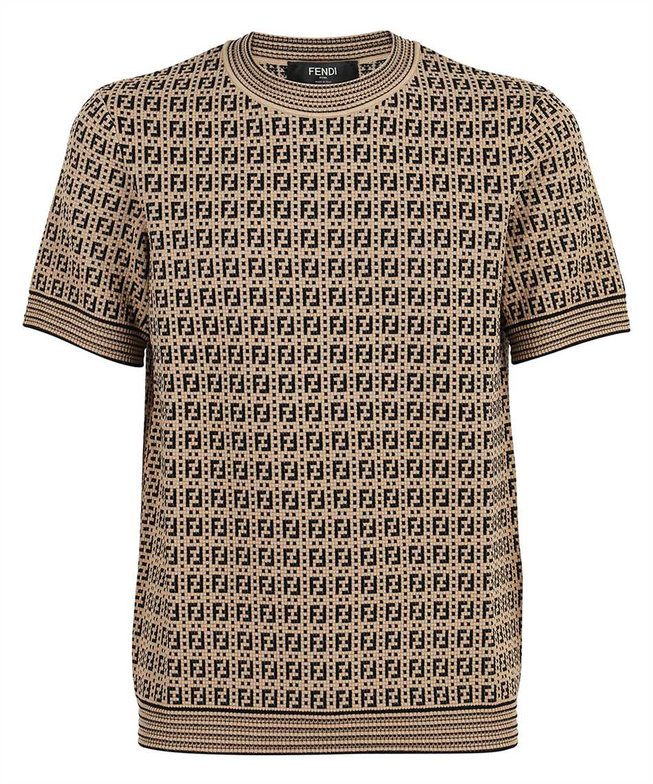 Fendi FZY426 AF59 FF INTERLACE KNIT T-shirt 1