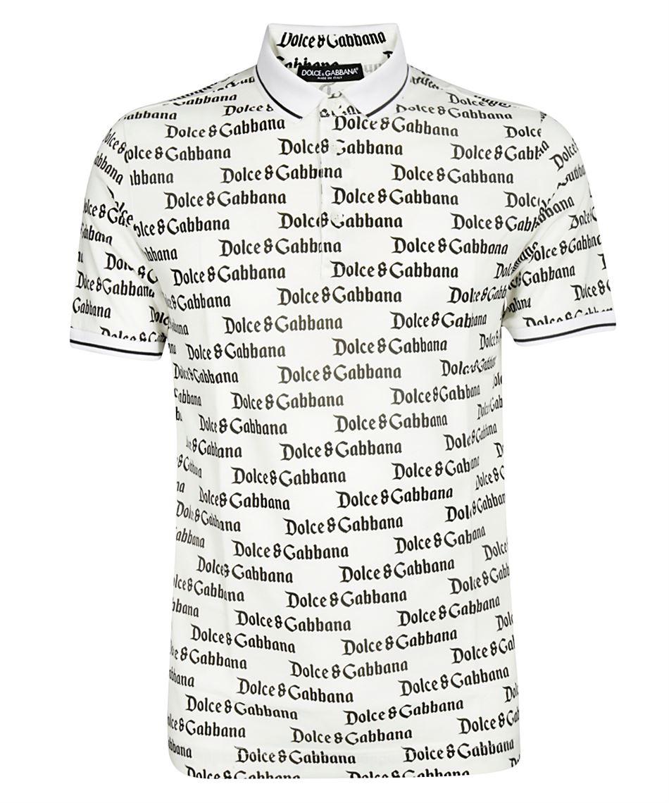 189be18c9003 Dolce & Gabbana G8HU6T FS762 polo da uomo maniche corte Bianco