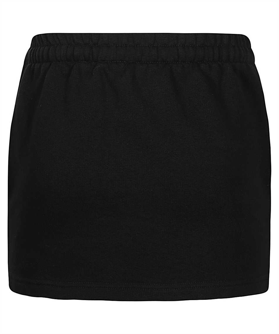 Vetements WE51SK100B LOGO TAPE MOLTON MINI Skirt 2