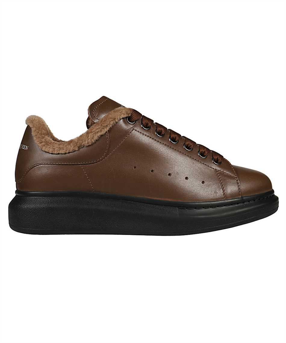Alexander McQueen 604228 WHXE2 COSY SHEARLING BIKER Sneakers 1