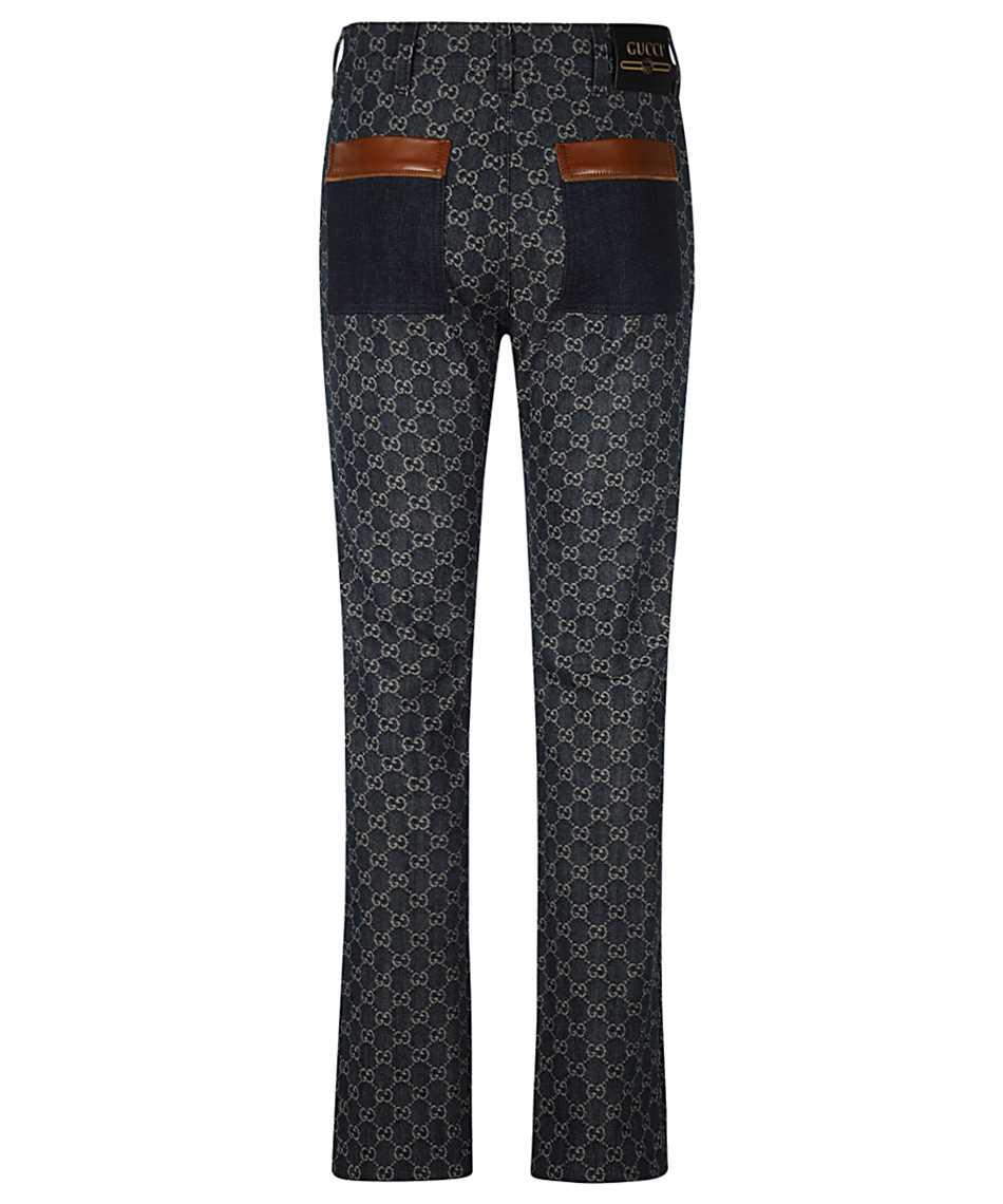 Gucci 649092 XDBK1 GG DENIM Jeans 2