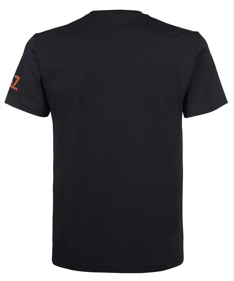 EA7 6KPT32 PJ9TZ GRAPHIC SERIES COTTON JERSEY T-shirt 2