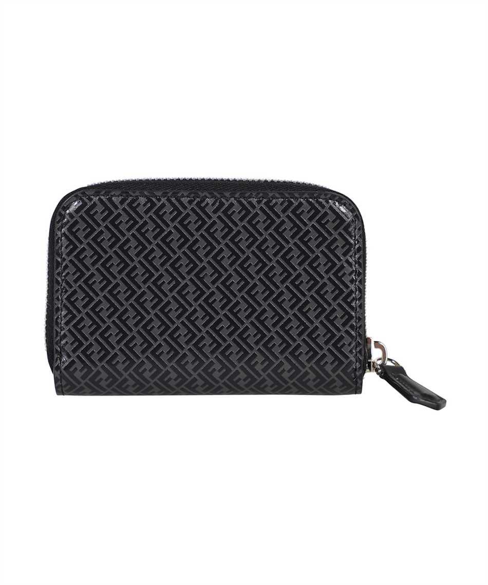 Fendi 7M0257 AGLP SMALL ZIP Porta carte di credito 1
