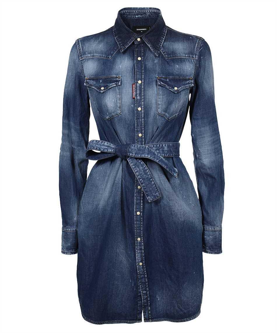 Dsquared2 S72CV0216 S30341 BOYFRIEND SHIRT Dress 1