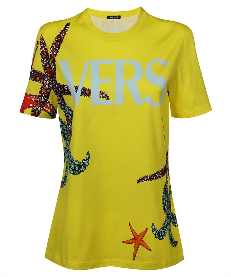 Versace A89357 1F01179 TRÉSOR DE LA MER PRINT T-shirt 1